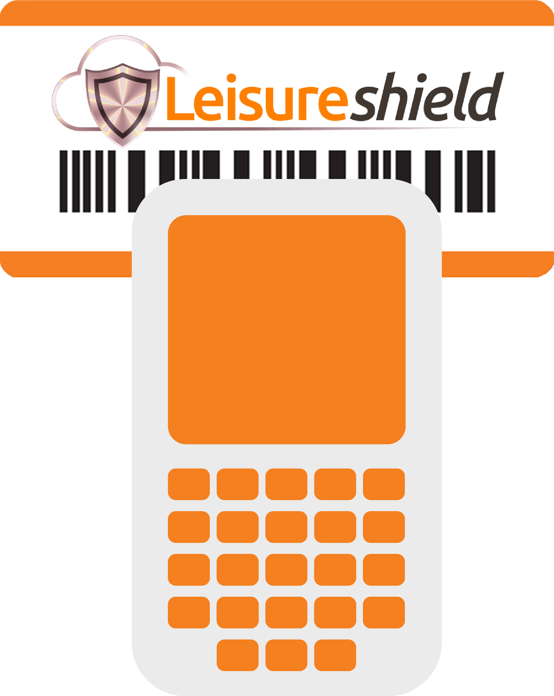 Vector Illustrations PDA Barcode