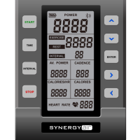 synergyair hit Cycle Erg console