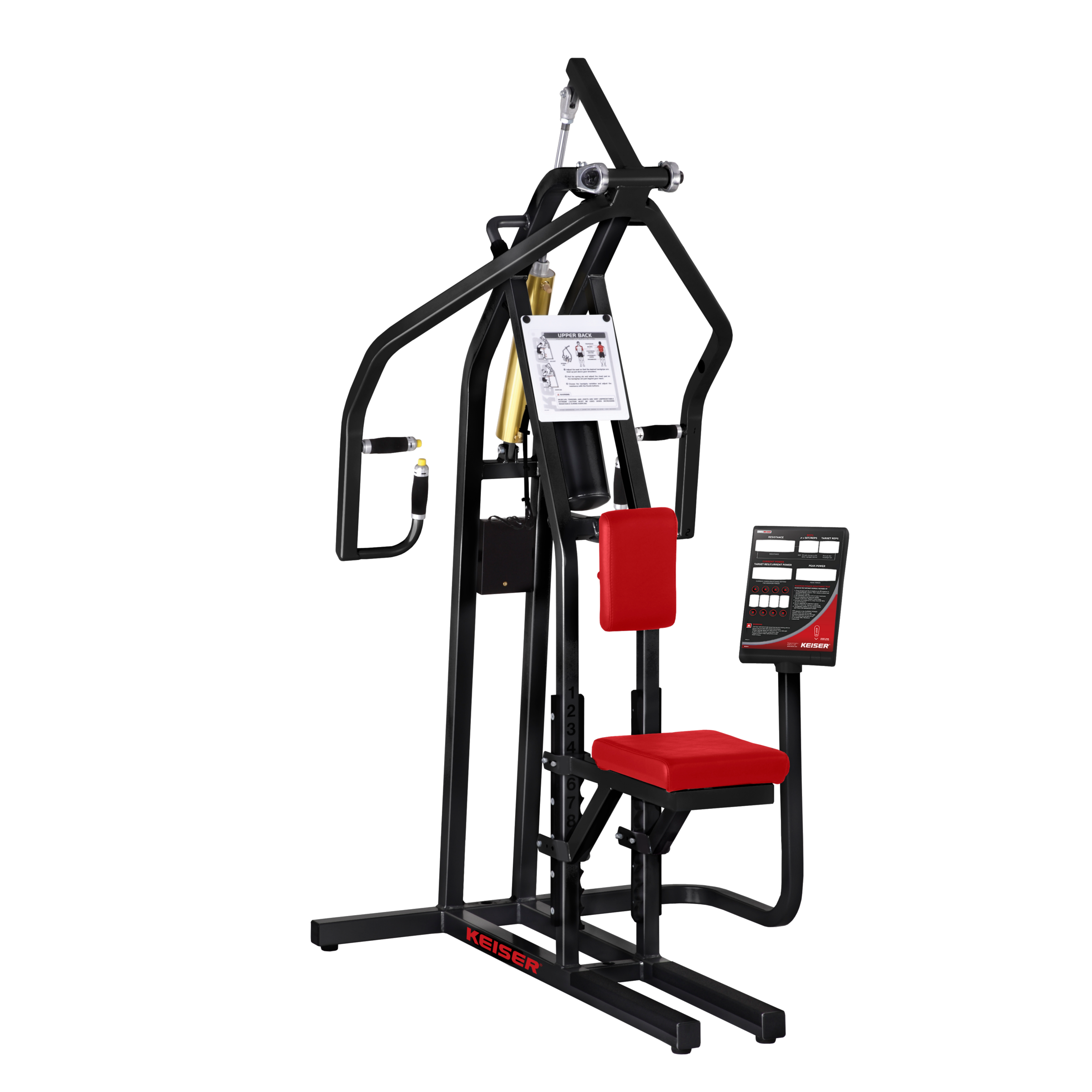 Keiser Air250 Upper Back Strength Machine