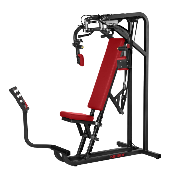 Keiser Air350 Seated Pec Dec Strength Machine