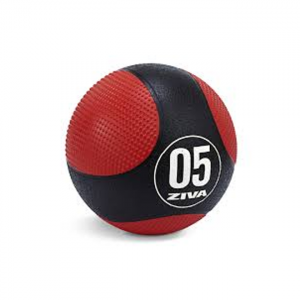ZIVA Medicine Ball Black and Red