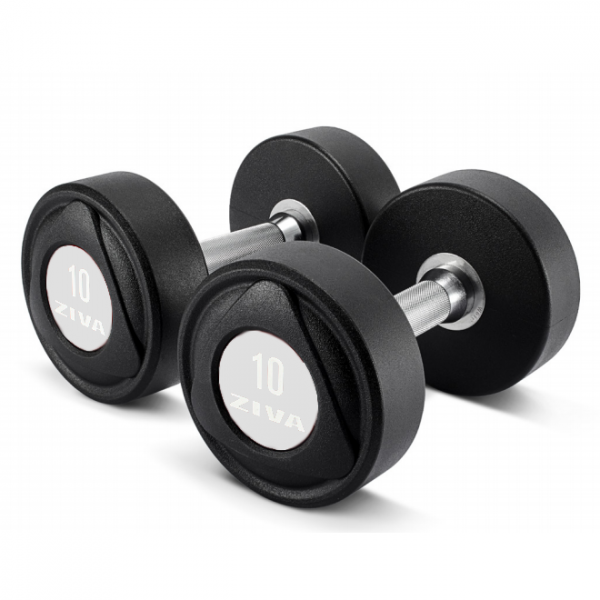 ZIVA SL Dumbbell White