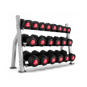 ZIVA Compact 3 Tier Dumbbell Rack