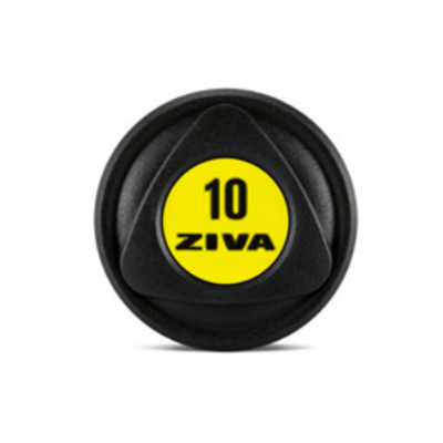 ZIVA SL PolyUrethane Dumbbell yellow