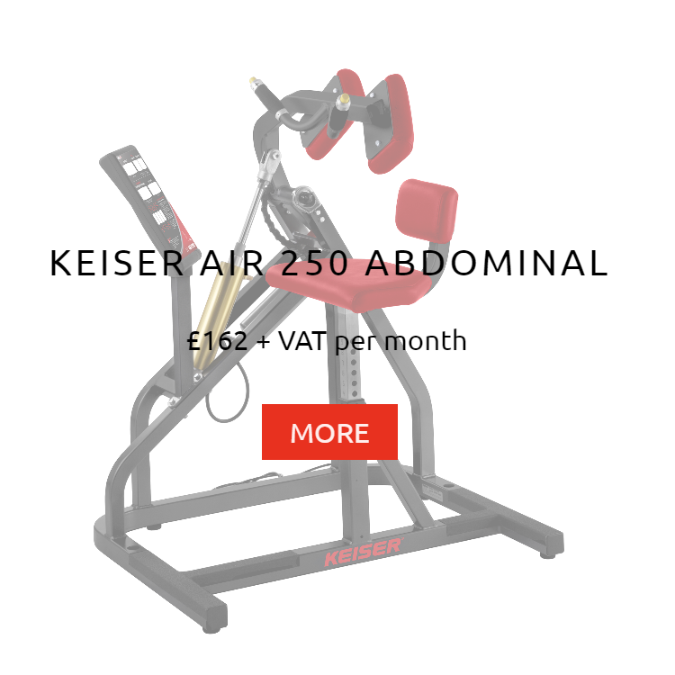 Keiser Air 250 Abdominal Rental Price