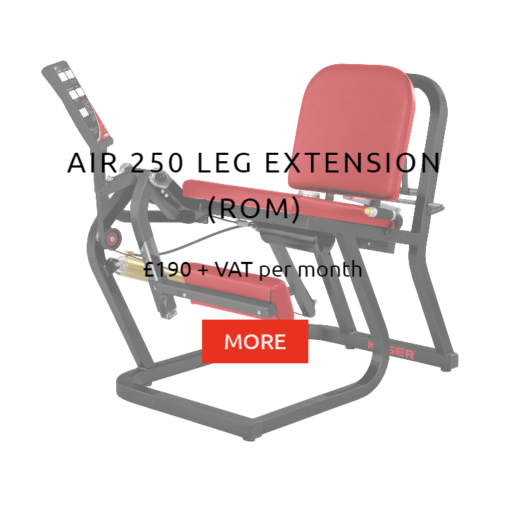 Keiser Air 250 Leg Extension Rental Price