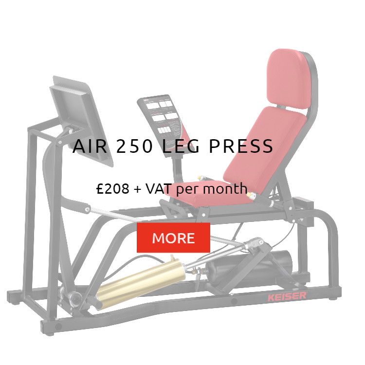 Keiser Air 250 Leg Press Rental Price