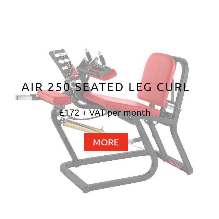 Keiser Air 250 Seated Leg Curl rental