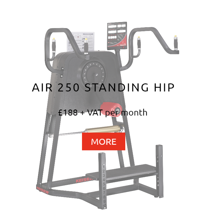 Keiser Air 250 Standing Hip Rental Prices