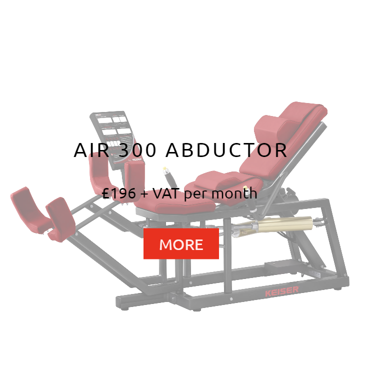 Keiser Air 300 Abductor Rental Price
