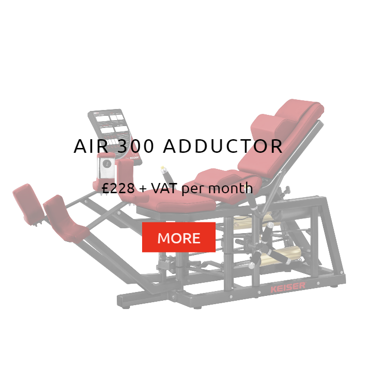 Keiser Air 300 Adductor Rental Price