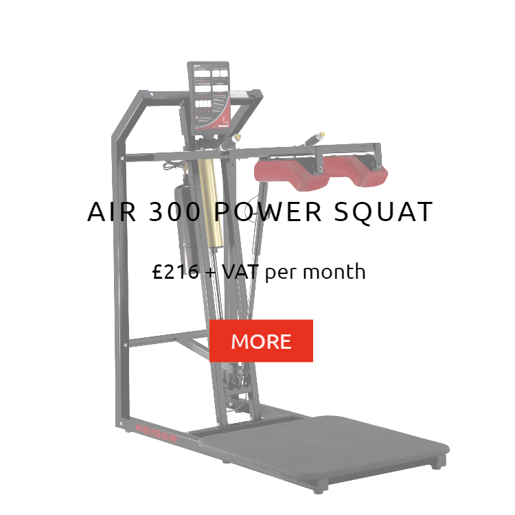 Keiser Air 300 Power Squat Rental Price