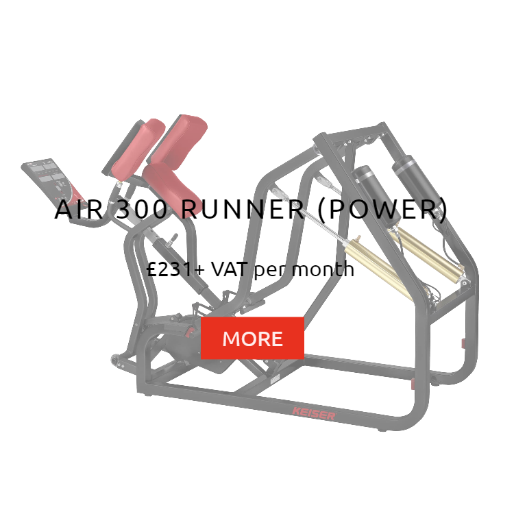 Keiser Air 300 Runner Power Rental Prices