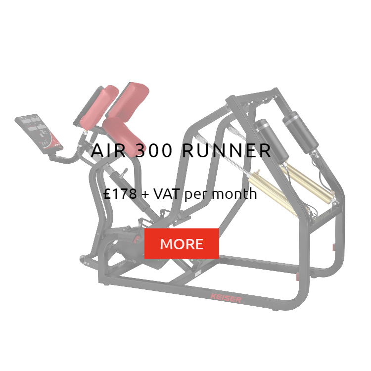 Keiser Air 300 Runner Rental Prices