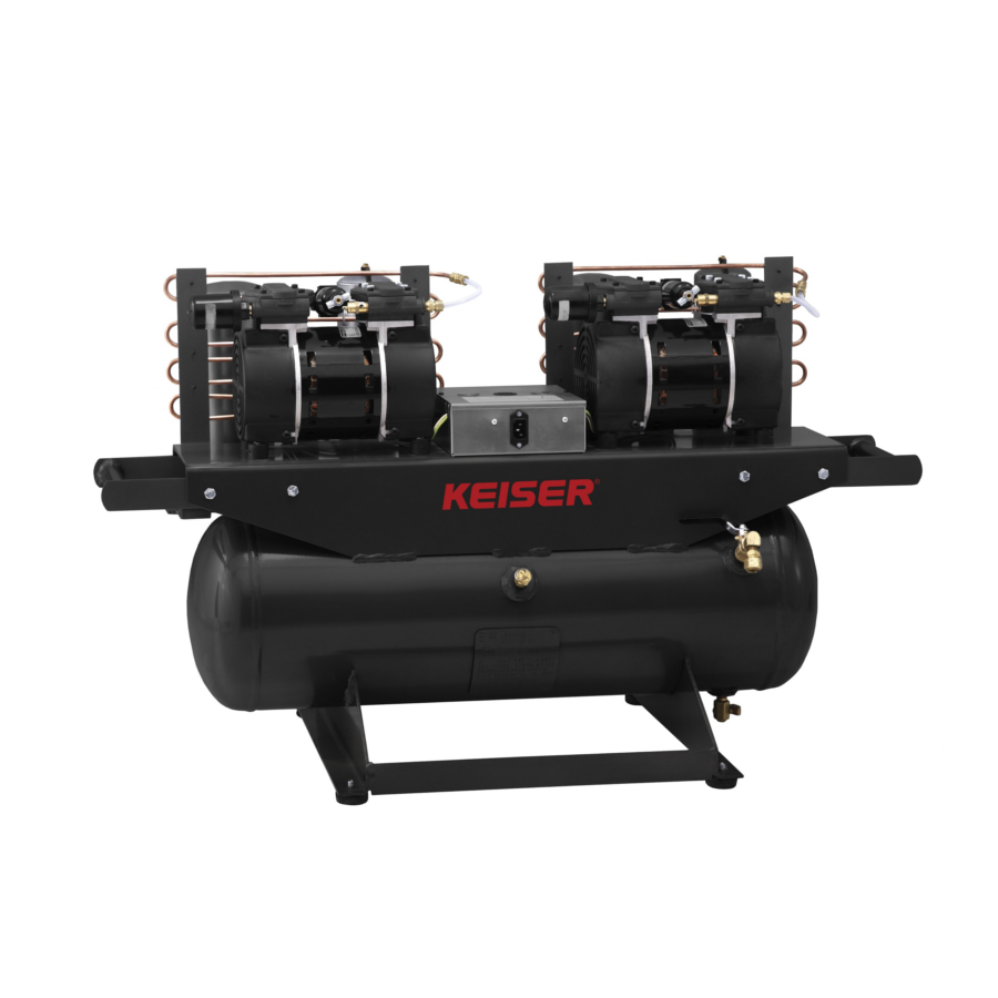 Keiser Compressor to 18 Machines