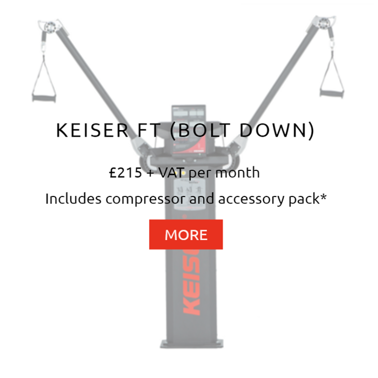 Keiser Functional Trainer Bolt Down Rental Price