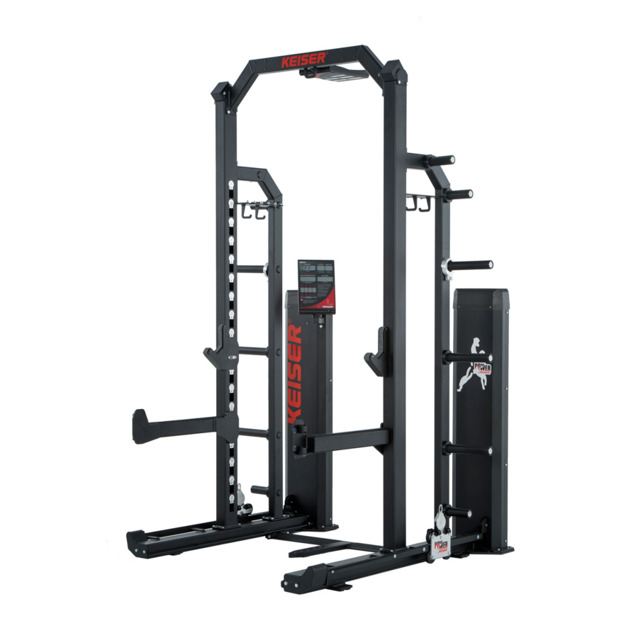 8 Foot Half Rack, Short Base, With Air (Power Screen)