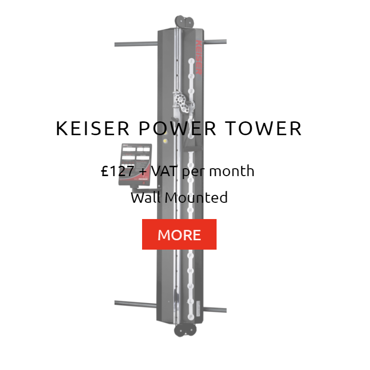 Keiser Power Tower Rental Price