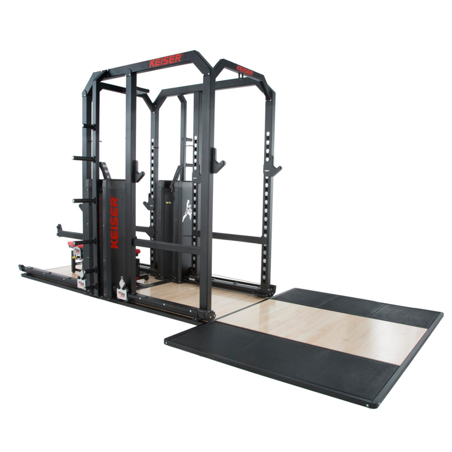 Keiser Rack and a Half With Air Rental