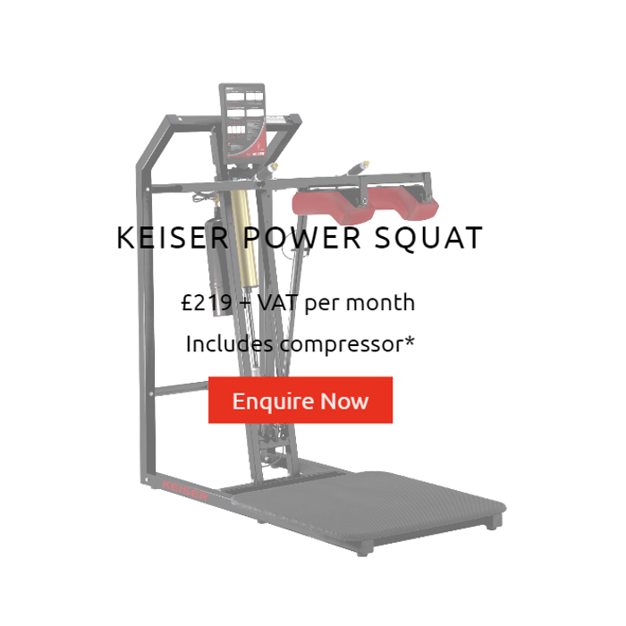 Rent Keiser Power Squat