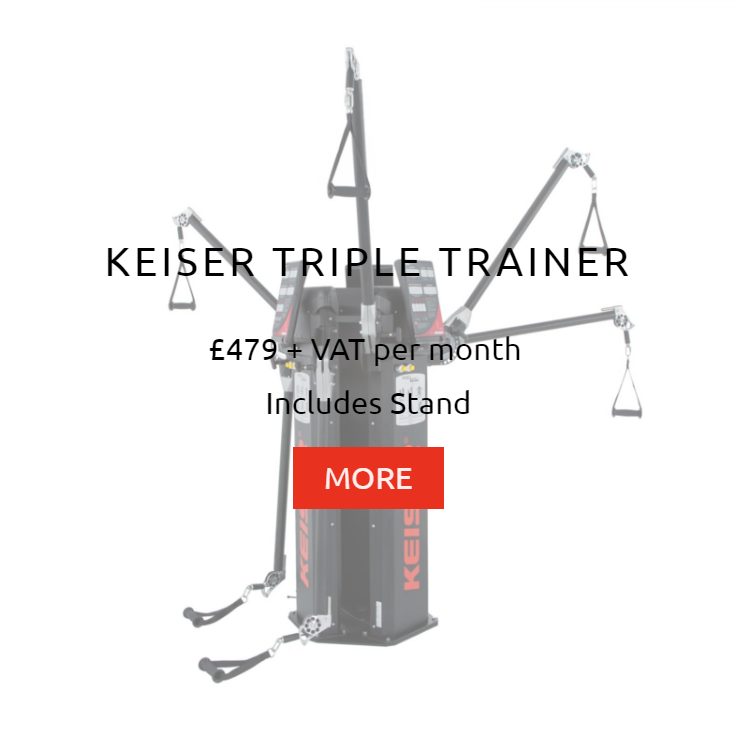 Keiser Triple Trainer Rental