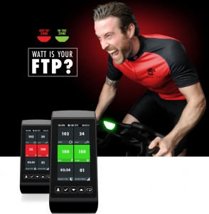 Life Fintess ICG Indoor Cycle FTP Test